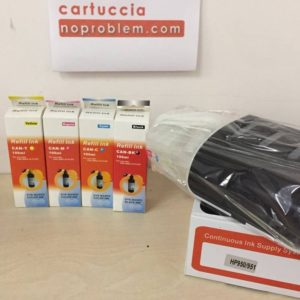 KIT IN CONTINUO PER HP 950 / 951 + 400ML INCHIOSTRO