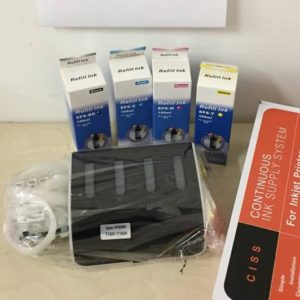 KIT IN CONTINUO PER EPSON T1631 + 400ML INCHIOSTRO