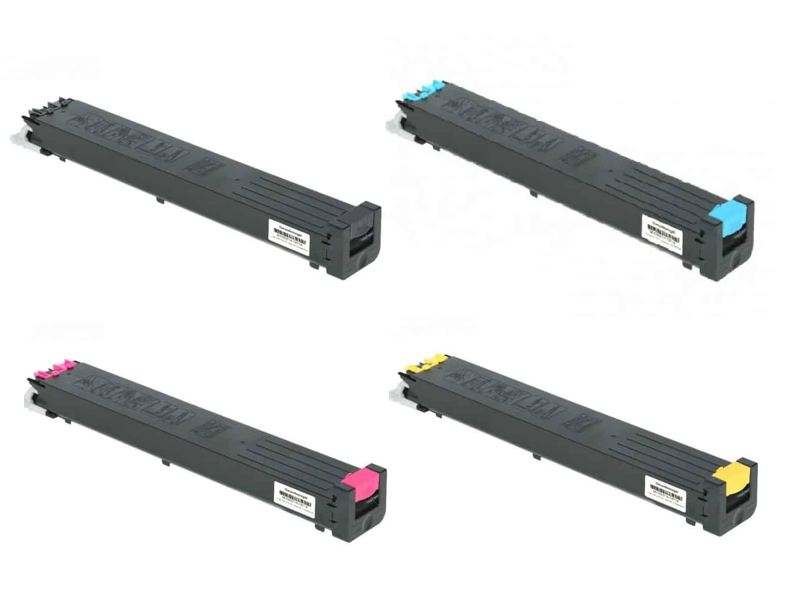 MULTIPACK 4 TONER SHARP MX30 COMPATIBILI