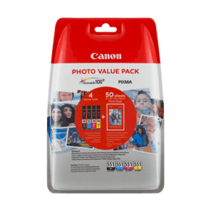 CLI-551 Photo Value Pack 6508B005